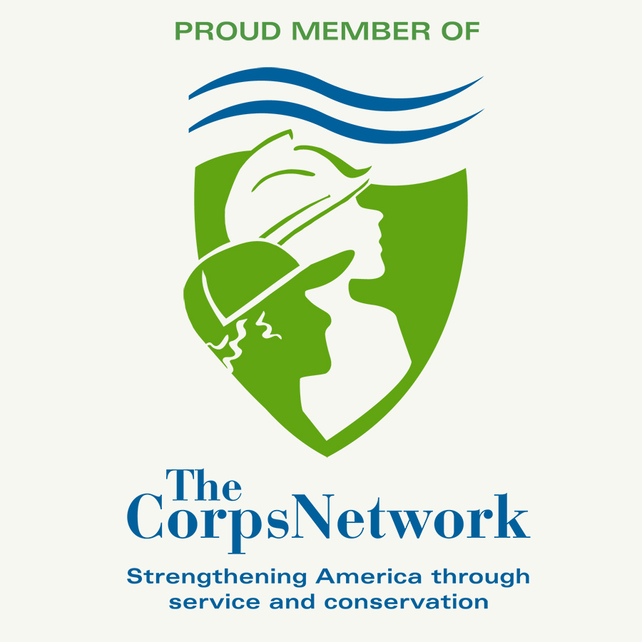Proud Member of The Corps Network - Strengthening America through service and conservation